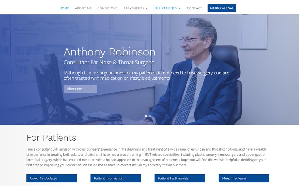 My-ENT – Anthony Robinson